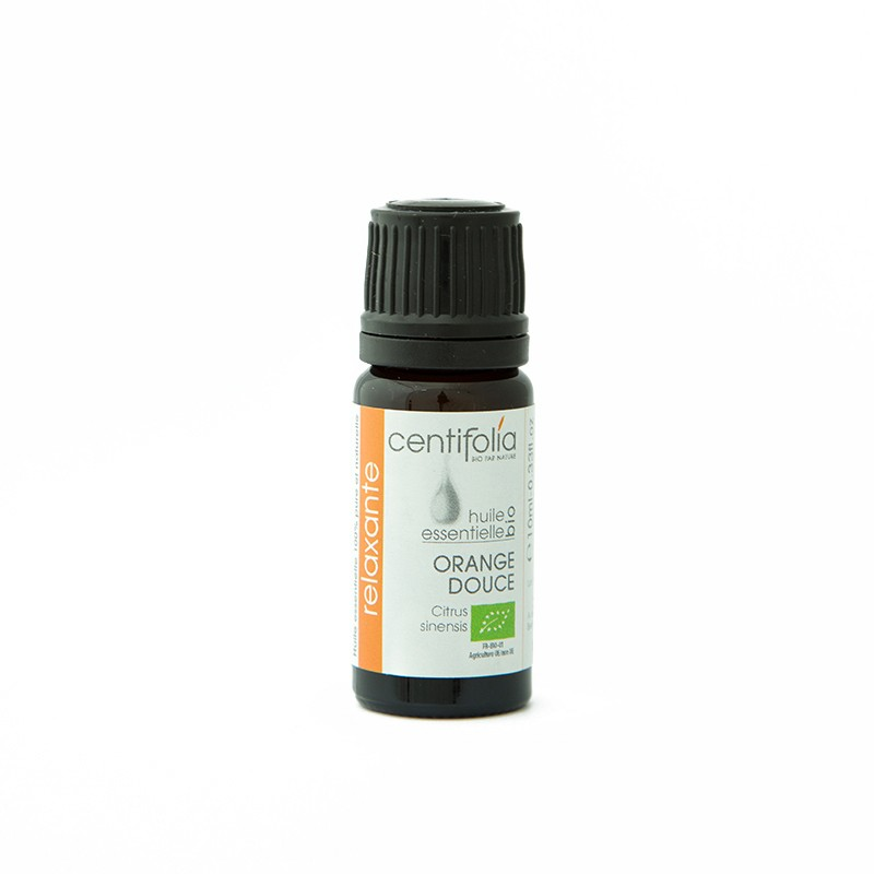Organic SWEET ORANGE essential oil: 10ml/30ml