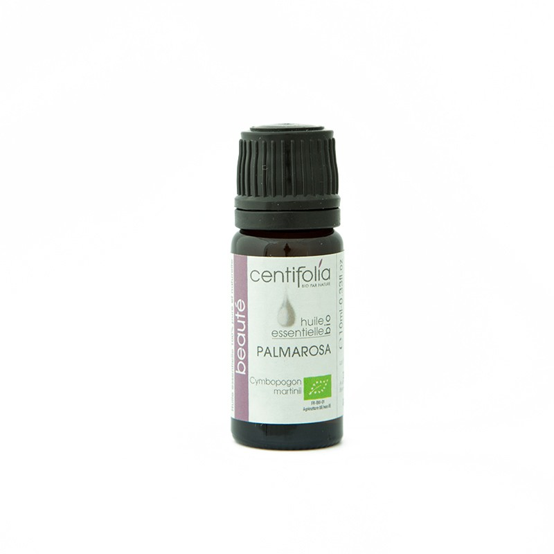 Organic PALMAROSE essential oil - 10ml