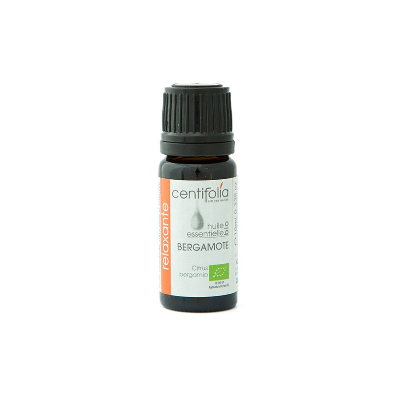 Organic BERGAMOT essential oil - 10ml/30ml