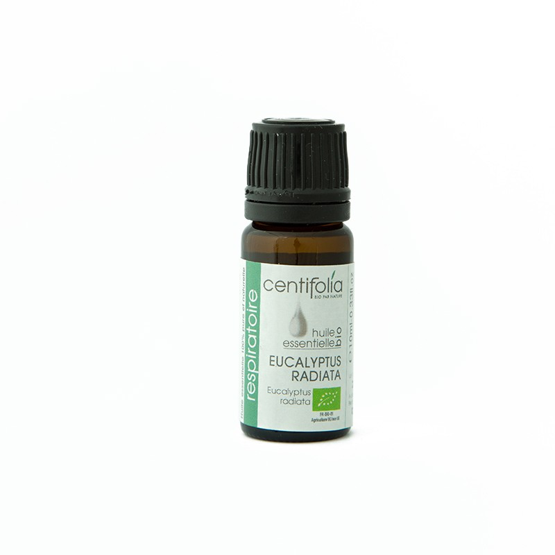Organic EUCALYPTUS RADIATA essential oil: 10ml