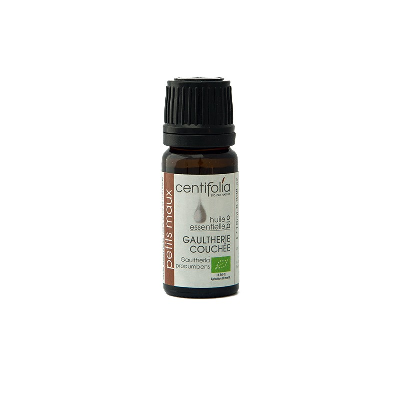 Organic WINTERGREEN essential oil - 10ml/30ml