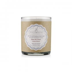 Natural candle -Cotton Flower