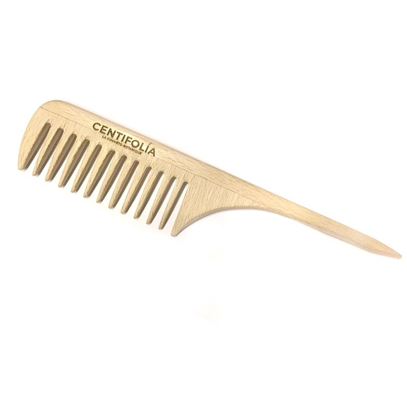 Achat Wooden comb with rat tail Centifolia