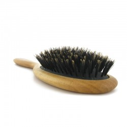 Wooden boar brush