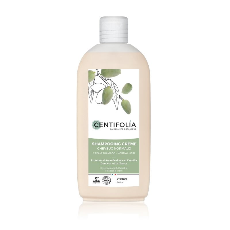 Shampoing crème cheveux normaux