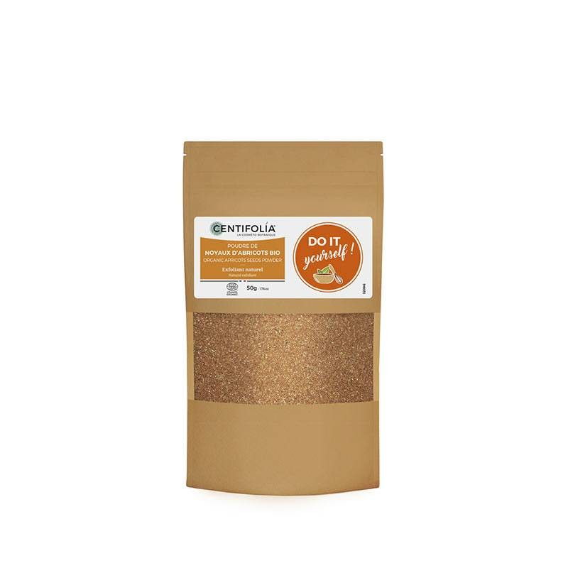 Organic apricots seeds powder