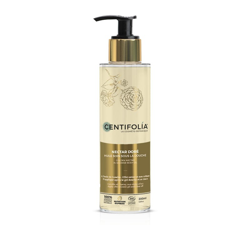 In-shower body oil Golden Nectar