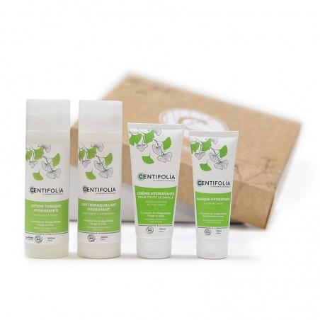 Facial skin hydration set