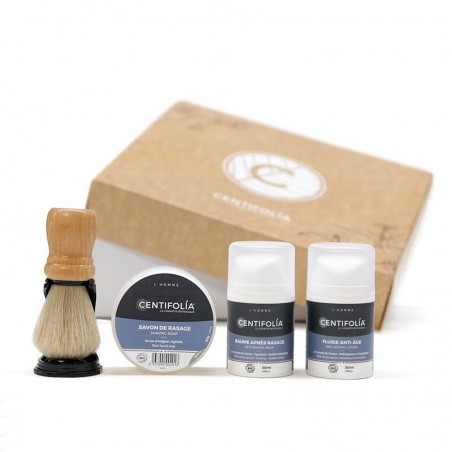 Men's shaving and skin care set