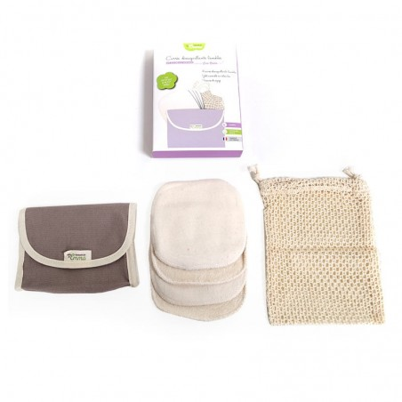Washable cleansing squares kit