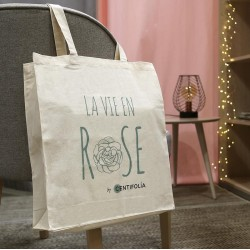 Tote bag La vie en Rose