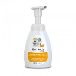 Mousse lavante kids - Parfum Abricot