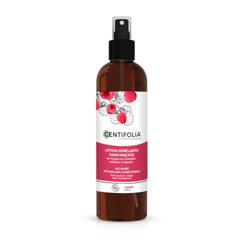 No-rinse detangling lotion