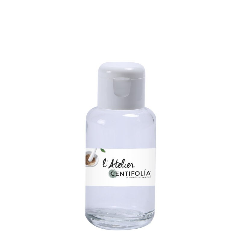 Glass bottle with cap 50ml
