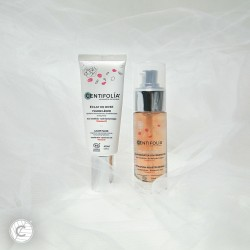 Éclat de Rose® Serum and Light Fluid duo