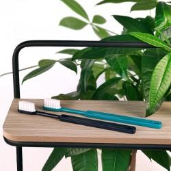 Achat Brosse à dents rechargeable bleue marine - Medium Centifolia
