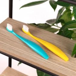 Brosse à dents enfants rechargeable - Jaune ou bleue