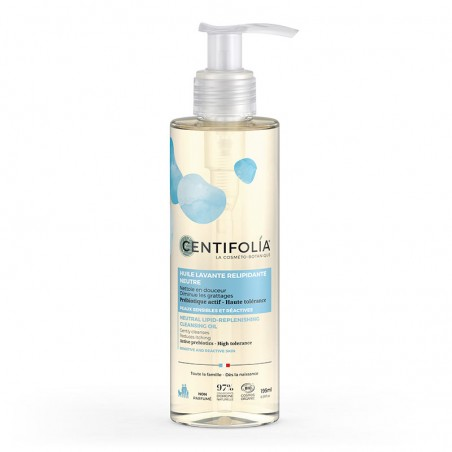Neutral lipid-replenishing cleansing oil
