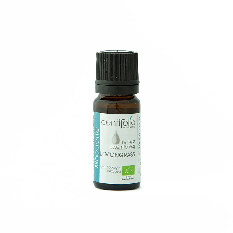 Organic LEMONGRASS essential oil - 10ml