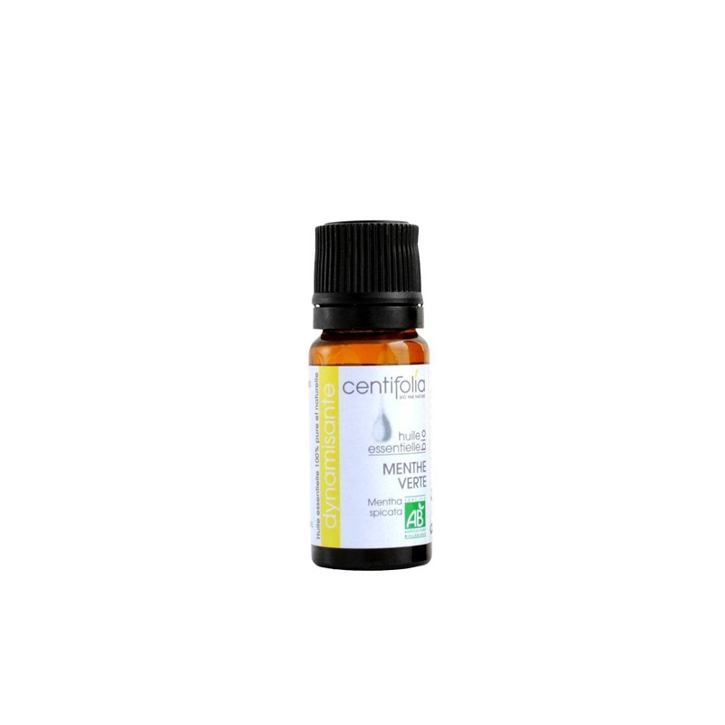 Organic SPEARMINT essential oil: 10ml