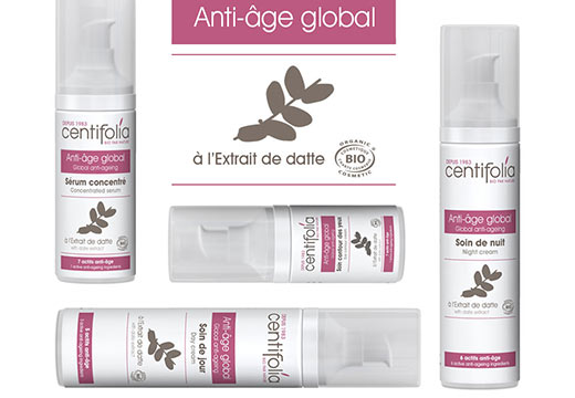 Gamme soin anti-âge global Bio