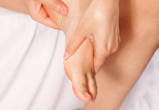 Bienfaits du massage des pieds