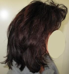 coloration au henne noir
